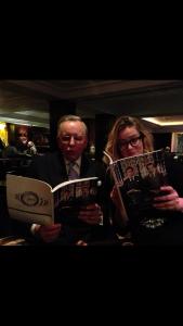 John Hitchcock and Celia.