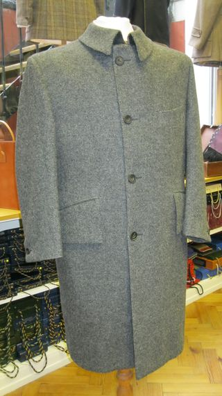 Button up overcoat